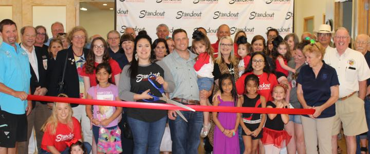 Ribbon Cutting - Standout Dance Center