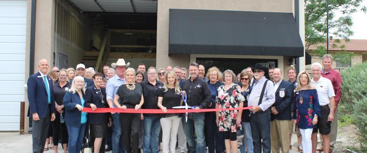 Ribbon Cutting - Texas Hill Country Construction Custom Builder