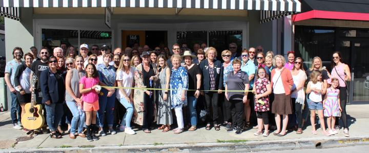 Ribbon Cutting - The Local