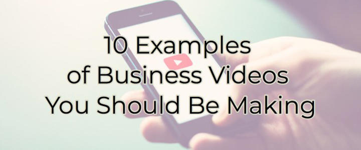 blog business videos