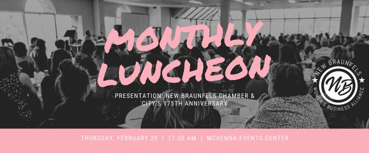 Women's Business Alliance Luncheon Feb. 20