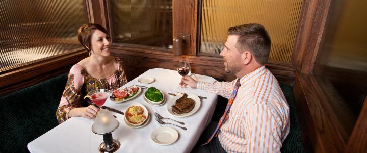 Myron's Steakhouse Date Night