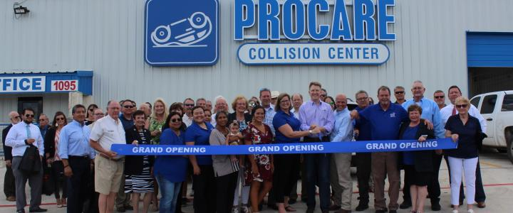 Ribbon Cutting - Pro Care Automotive and Collisions