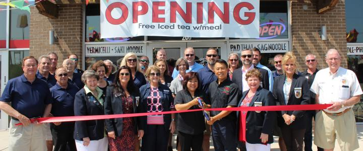 Ribbon Cutting - Pho 4 Star
