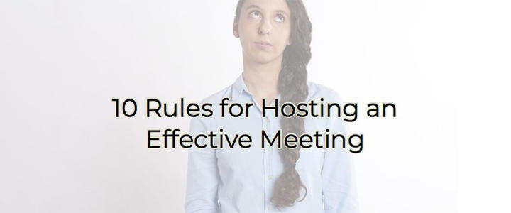 Effective Meeting blog