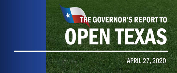 Governors Guide to Open Texas