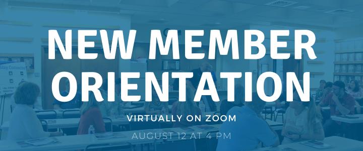 new member orientation image
