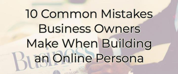 Online Persona Blog