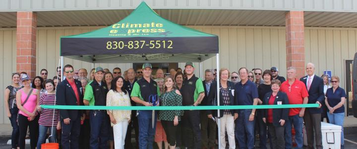Ribbon Cutting - Climate Express Heating & Air LLC