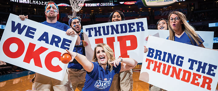 quality design b4194 03057 It's Time to Thunder Up!