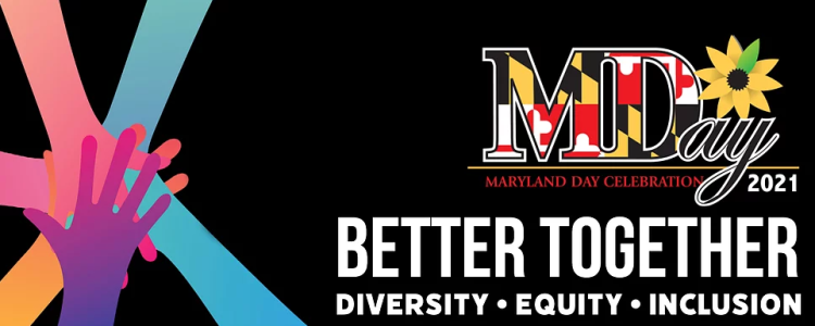 Maryland Day 2021 Better Together Logo