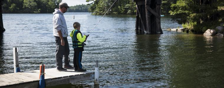 Guide to Summer Fishing on Minocqua Area Lakes