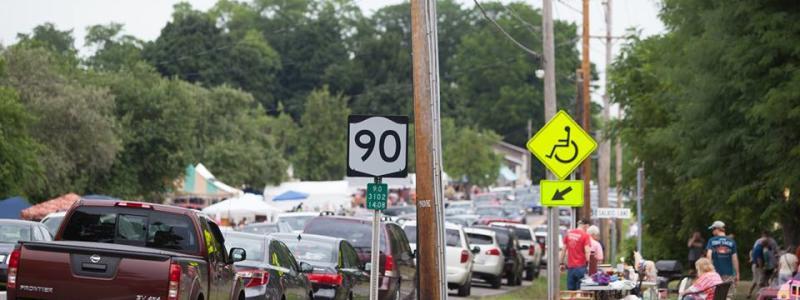 Route 90 | 50 Mile Garage Sale | Cayuga Lake, NY