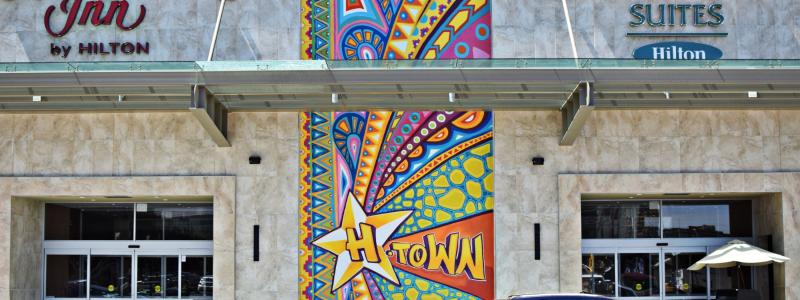 HTown Mural Near Minute Maid
