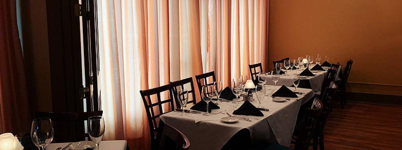 Elegant Setting at Myron's Steakhouse in New Braunfels, Texas