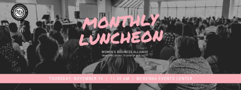 WBA Nov Luncheon