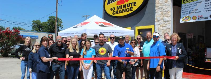 Ribbon Cutting - Bradzoil, Inc.