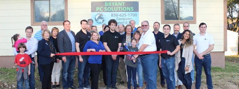 Ribbon Cutting: Bryant PC Solutions