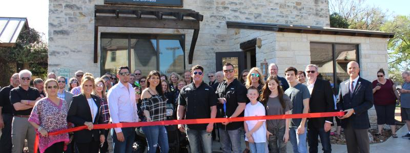 Ribbon Cutting - Canyon Steel Buildings