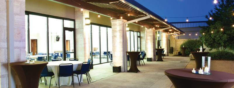 Civic and Convention Center Patio -- Venue in Downtown New Braunfels, Texas