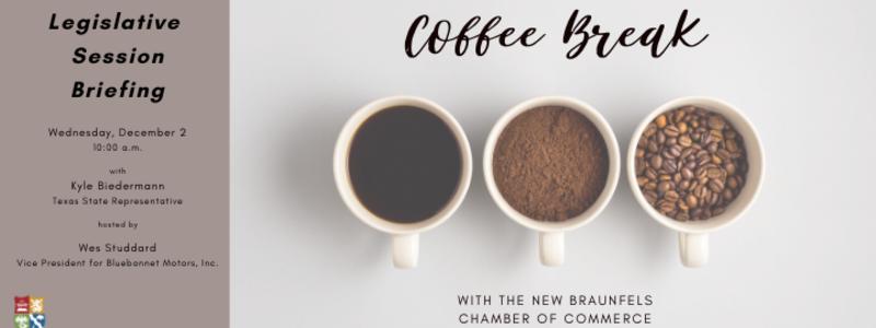 Coffee Break -State Rep