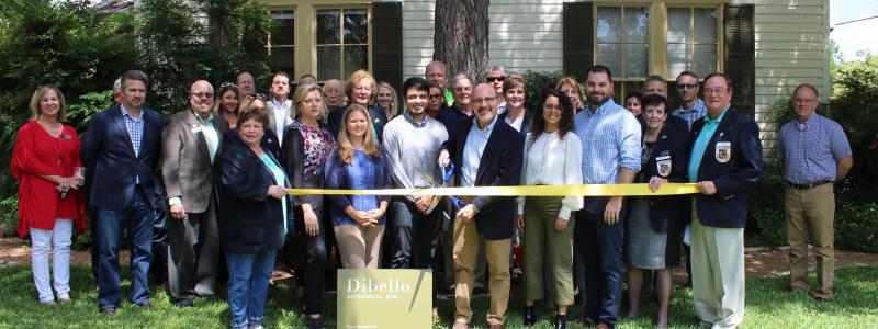 Ribbon Cutting - Dibello Architects