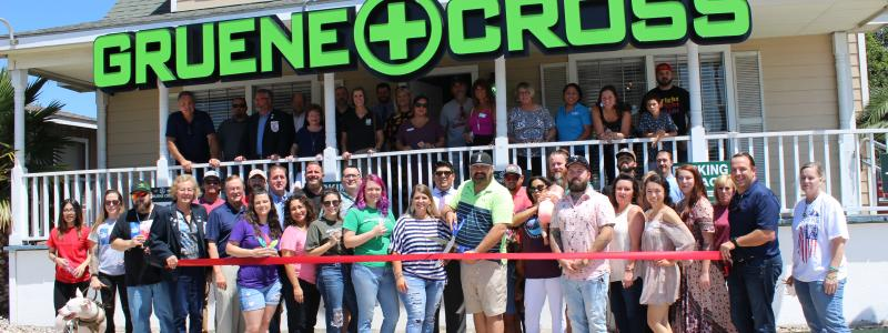Ribbon Cutting - Gruene Cross