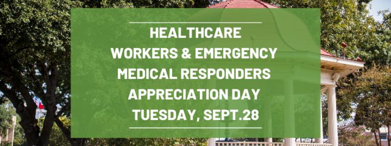 Appreciation Day Sept. 28, 2021