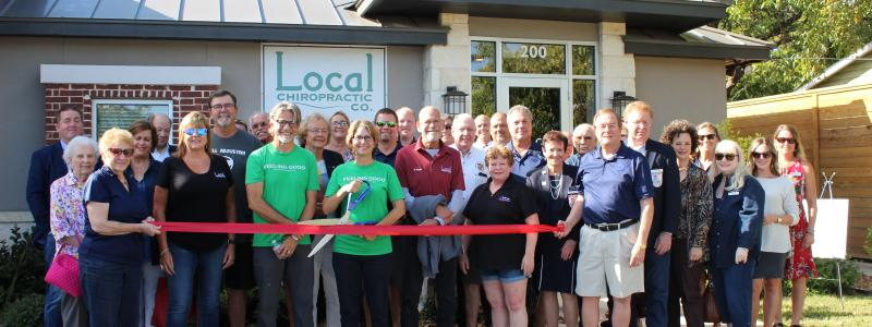 Ribbon Cutting - Local Chiropractic Co. PLLC