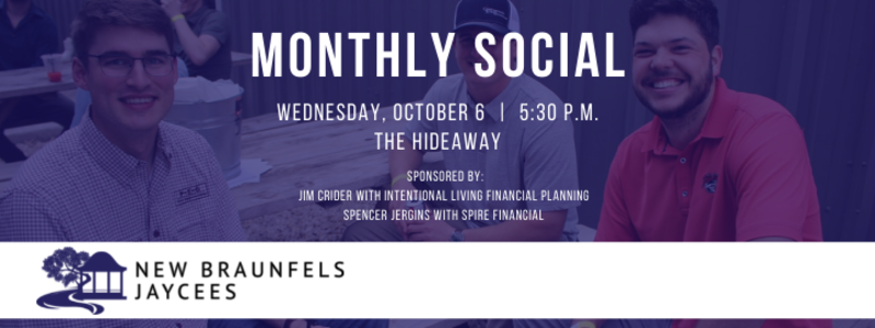 Jaycees Monthly Social - October 2021