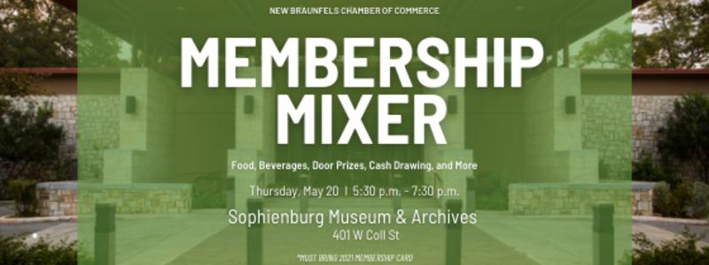May Membership Mixer