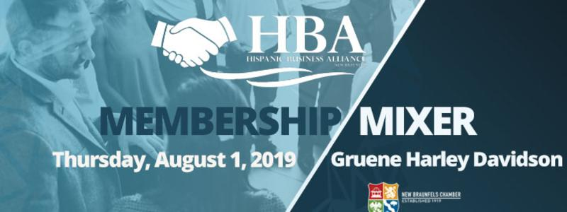 HBA August 2019 mixer