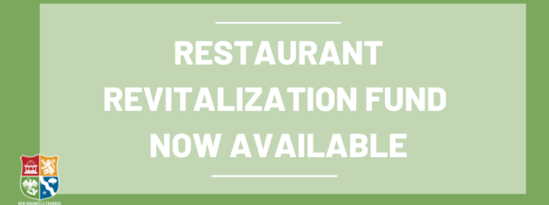 Restaurant Revitalization Fund Now Available
