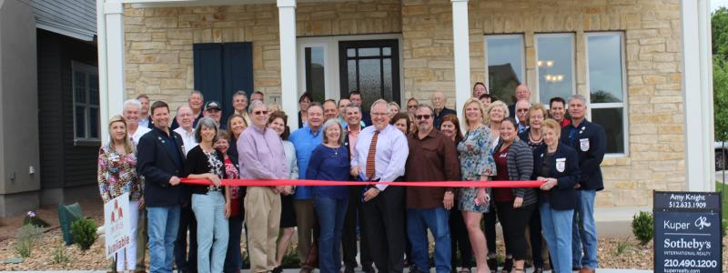 Ribbon Cutting - Wes Peoples Homes II