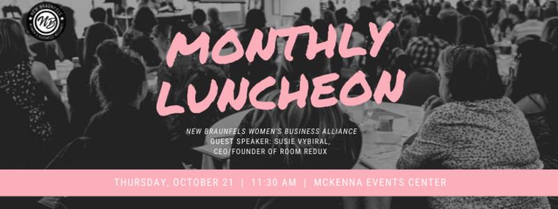 WBA October Monthly Luncheon