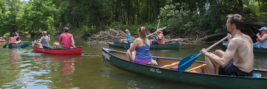 Brandywine River Canoe Trip