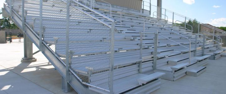 Full Plank Decking System from Southern Bleacher Company