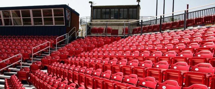Radford University bleachers