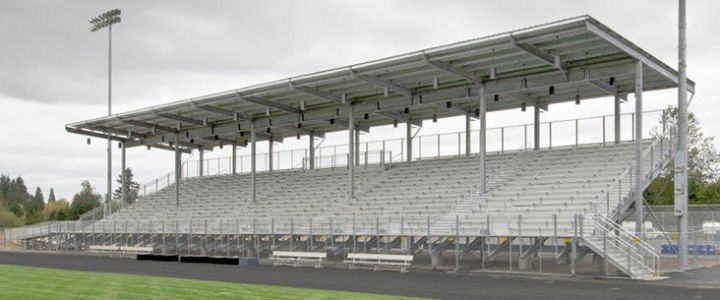 High School Sports Bleachers | Southern Bleacher Company