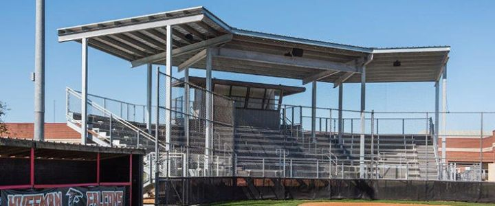 Huffman Independent School District bleachers