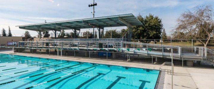 High School Swimming Diving Bleachers Southern Bleacher Company