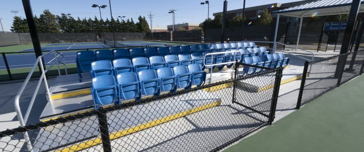 Custom Tennis Bleachers