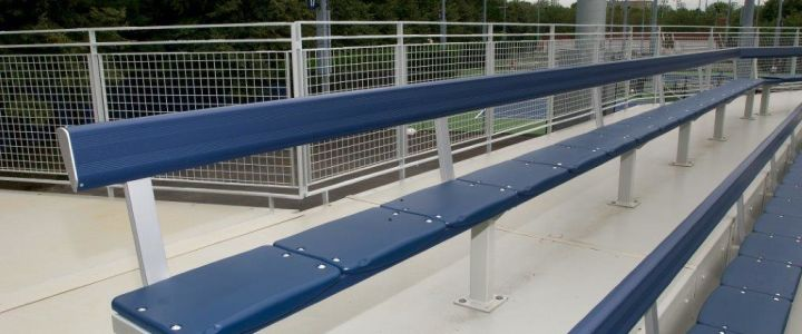 The Southern Bleacher Elite Seat provides added comfort for spectators and fans