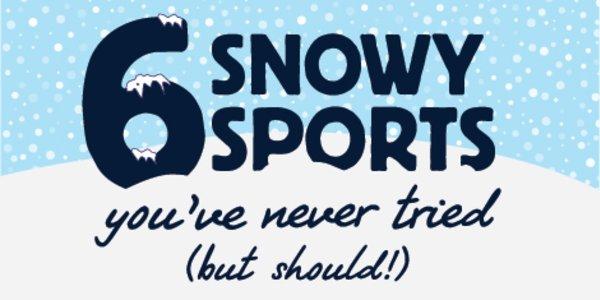 6 Snowy Sports