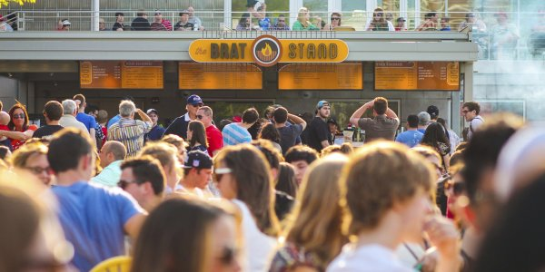 Brat Stand at Memorial Union Terrace