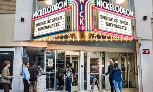 Nickelodeon Theatre on Main Street