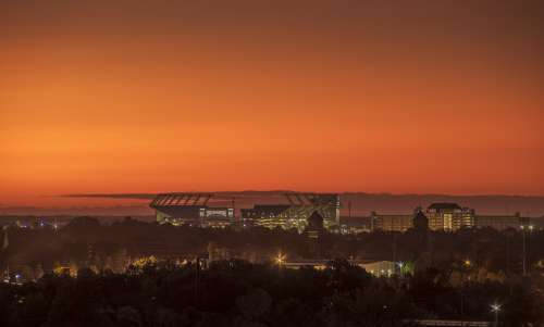 Williams-Brice Stadium at Sunrise