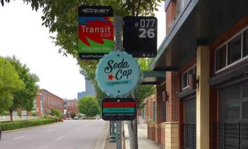 Attraction-Hop Along Columbia SC's Trolley Route