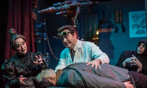 Actors in Frankenstein