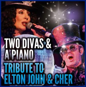 elton john and cher PAC live - tribute masters